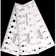 ChiaoGoo šablona na měření jehlic - 13cm