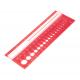 KnitPro Šablona na měření jehlic