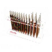 KnitPro stojan na 13 pár jehlic