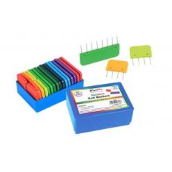 KnitPro barevný vypínací bloky špendlíků