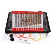KnitPro Symfonie Deluxe sada výměnných kruhových jehlic