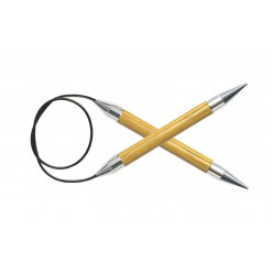 KnitPro Symfonie pevné kruhové jehlice 150cm (Swivel Mechanism)