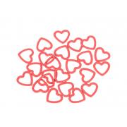 KnitPro kovové značkovače oček Amour (40 kusů)