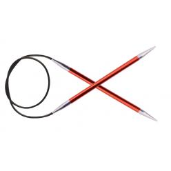 KnitPro ZING Pevné kruhové jehlice 80cm